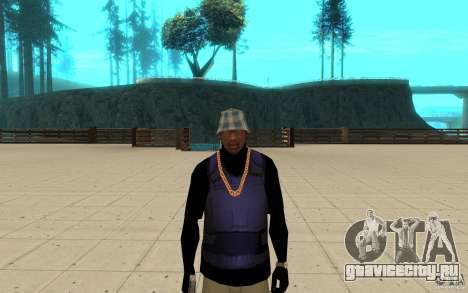 Броник скин 3 для GTA San Andreas третий скриншот