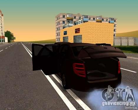 ВАЗ 2190 Сток для GTA San Andreas вид слева