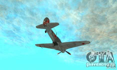Як-9 в раскраске Севастополь для GTA San Andreas вид сбоку
