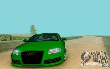 Audi RS6 OTIS для GTA San Andreas
