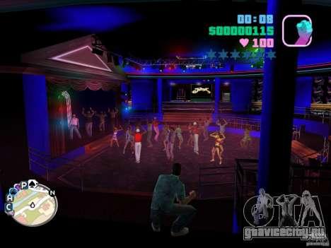 Club VIP - новые текстуры клуба Малибу для GTA Vice City второй скриншот