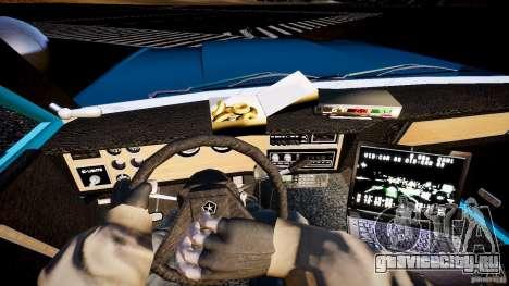 Dodge Diplomat 1983 Police v1.0 для GTA 4 вид сзади