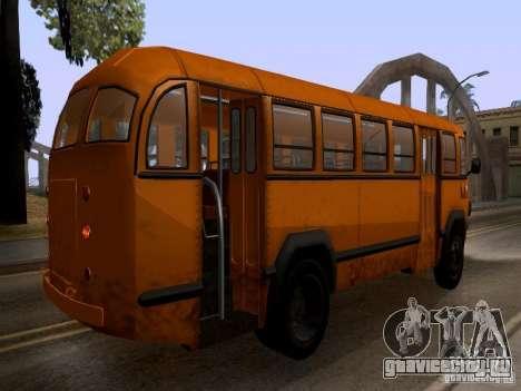 ЛиАЗ 158 для GTA San Andreas вид изнутри