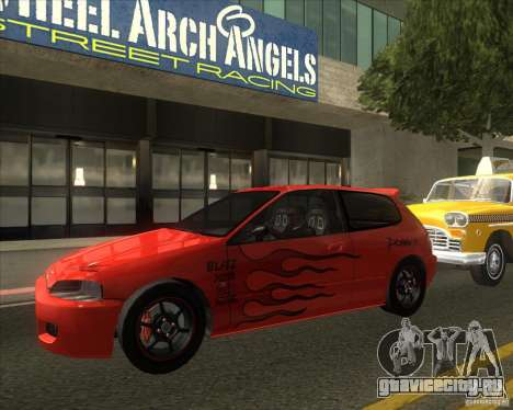 Honda Civic EG6 для GTA San Andreas вид справа