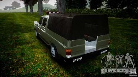 Chevrolet D20 Brigada Militar RS для GTA 4 вид сбоку