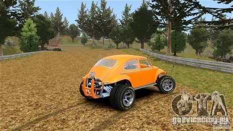 Baja Volkswagen Beetle V8 для GTA 4 вид слева