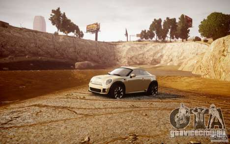 Mini Coupe Concept v0.5 для GTA 4 вид изнутри