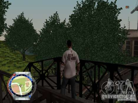 CM PUNK 2011 attaer для GTA San Andreas пятый скриншот