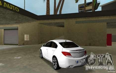 Opel Insignia для GTA Vice City
