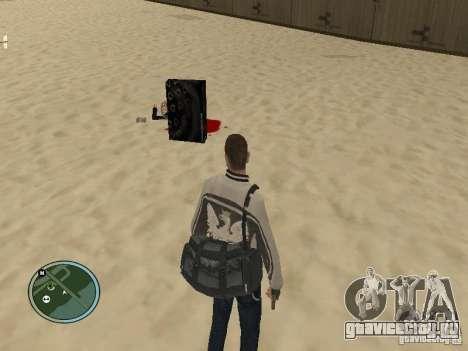 Педы с сумками и телефонами для GTA San Andreas второй скриншот