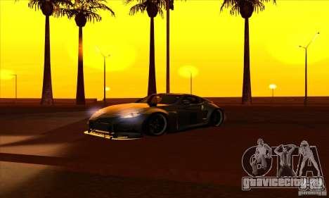 Nissan 370z Drift Edition для GTA San Andreas