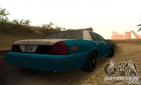 Ford Crown Victoria Georgia Police для GTA San Andreas вид слева