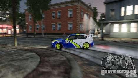 Subaru Impreza WRX STI Rallycross BFGoodric для GTA 4 салон