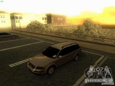 Vw Passat B5+ Wagon 1.9 TDi для GTA San Andreas