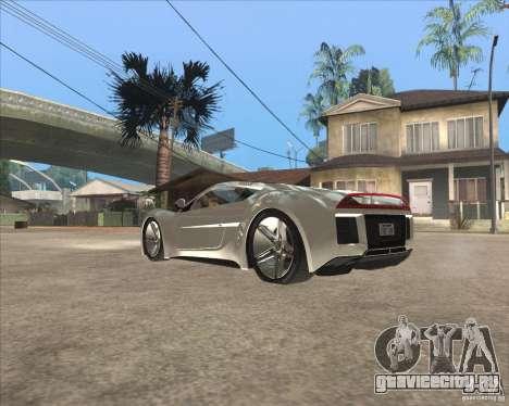 Saleen S5S Raptor для GTA San Andreas вид слева