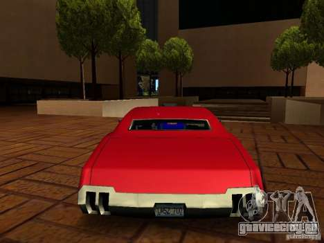 Charger Sabre для GTA San Andreas вид слева
