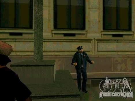 Оживление LSPD для GTA San Andreas третий скриншот