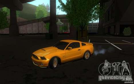 Ford Mustang GT V6 2011 для GTA San Andreas вид слева