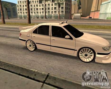 Peugeot 406 Taxi 2 для GTA San Andreas вид слева