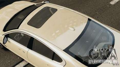 Jaguar XFR 2010 v2.0 для GTA 4 вид сзади слева