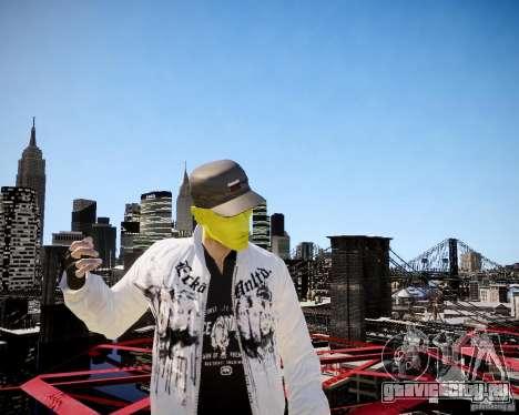 Niko The Mask для GTA 4 пятый скриншот