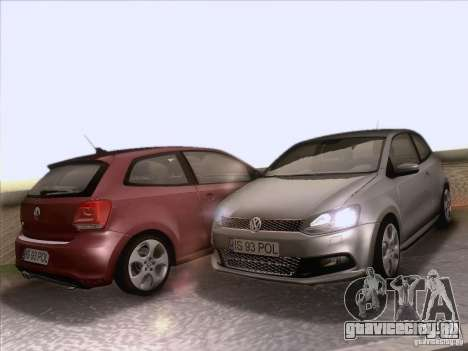 Volkswagen Polo GTI 2011 для GTA San Andreas