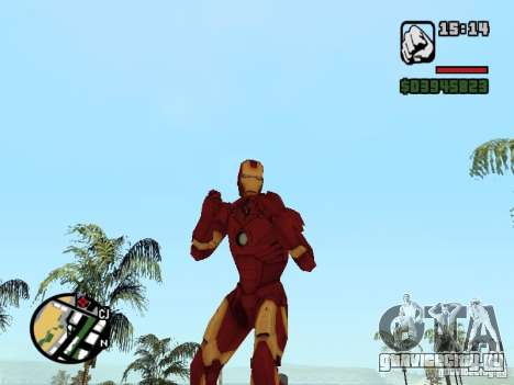 Iron man 2 для GTA San Andreas второй скриншот