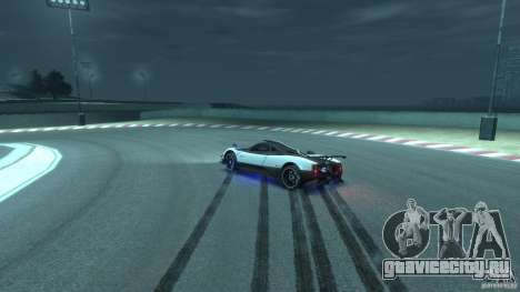 Pagani Zonda Cinque 2009 для GTA 4 вид сбоку
