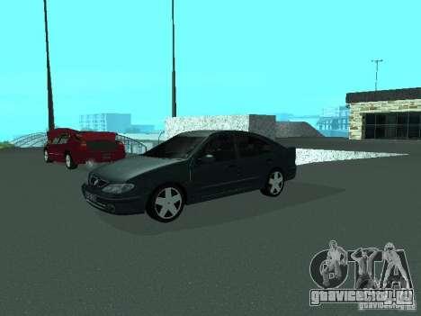 Renault Megane I для GTA San Andreas вид справа