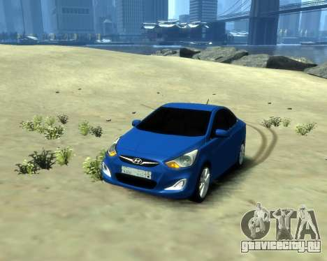 Hyundai Solaris Arab Edition для GTA 4