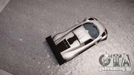 Gumpert Apollo Sport 2011 для GTA 4 вид сзади слева