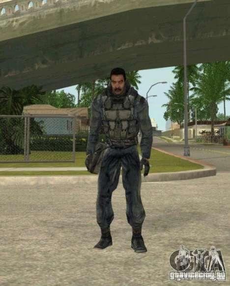 Группировка Наёмники из сталкера для GTA San Andreas пятый скриншот