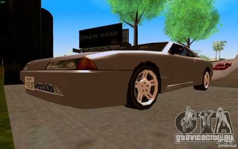 Новая Elegy для GTA San Andreas вид сзади