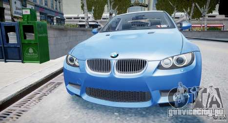 BMW M3 E92 2008 v.2.0 для GTA 4 вид справа