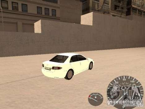 Mazda 6 2004 для GTA San Andreas вид сзади слева