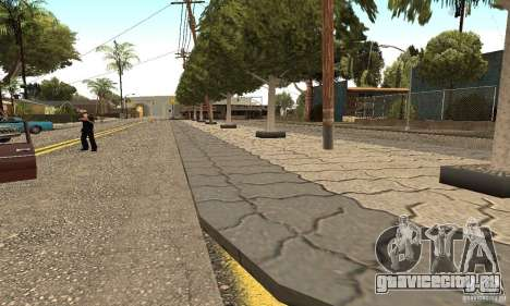 Grove Street 2012 V1.0 для GTA San Andreas четвёртый скриншот