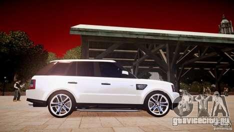 Range Rover Sport Supercharged v1.0 2010 для GTA 4 вид изнутри
