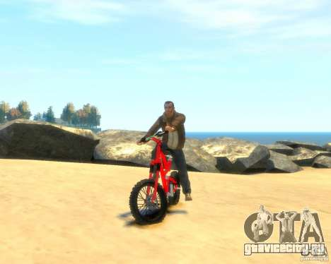 Mountain bike для GTA 4 вид справа