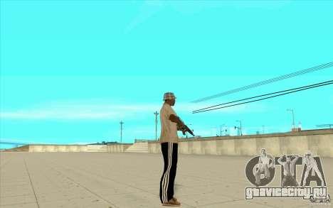 Спортивные штаны adidas для GTA San Andreas второй скриншот