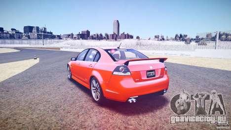 Holden Commodore SS (FBINOoSE) для GTA 4 вид сбоку