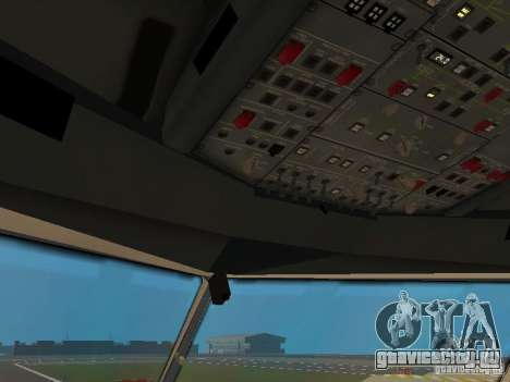 Airbus A330-300 Turkish Airlines для GTA San Andreas вид снизу