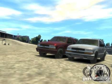 Chevrolet Blazer LS 2dr 4x4 для GTA 4 вид слева