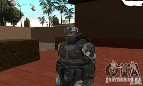 Crysis NanoSuit 2 для GTA San Andreas