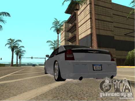 Chrysler 300 C для GTA San Andreas вид слева