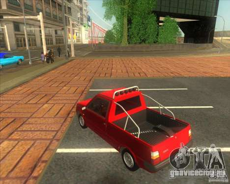 СЕАЗ Ока Пикап для GTA San Andreas вид слева