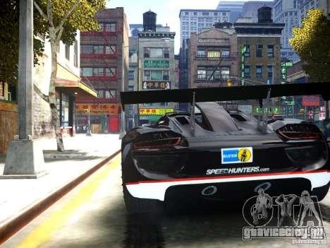 Porsche 918 Spider Body Kit Final для GTA 4 вид сзади слева