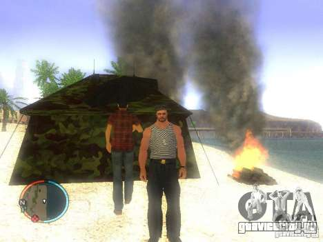Моряк для GTA San Andreas второй скриншот