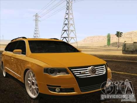 Volkswagen Passat B6 Variant для GTA San Andreas двигатель