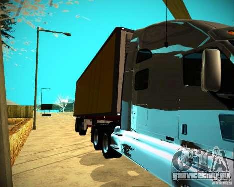 Прицеп Krone Biedra для GTA San Andreas вид сзади слева