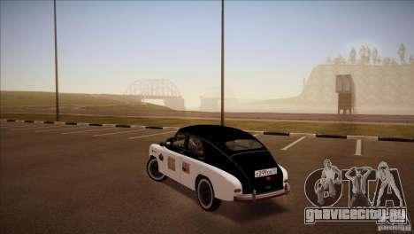 ГАЗ М-72 для GTA San Andreas вид слева